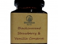 Blackcurrant, Strawberry and Vanilla Conserve