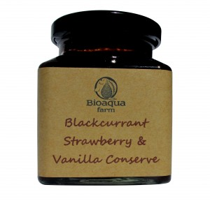 Blackcurrant conserve